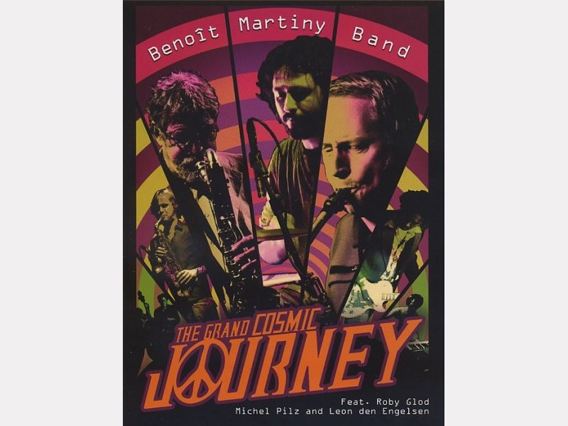 "Benoît MARTINY Band : ""The Grand Cosmic Journey"""