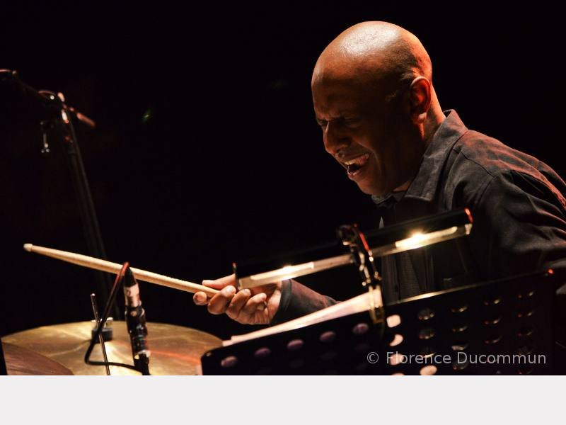 Billy Drummond - Coutances, mai 2014. ©© Florence Ducommun