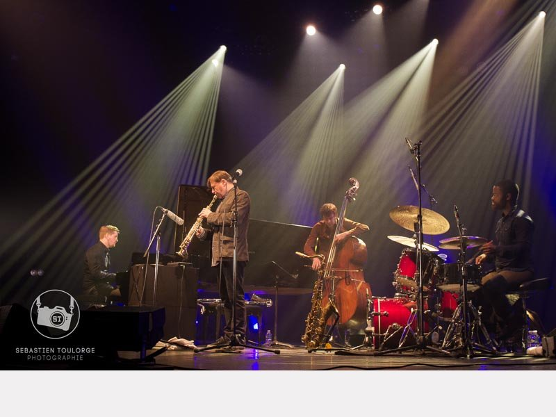 Pablo Held, Chris Potter, Joe Martin et Marcus Gilmore ©© Thierry Giard - 2016