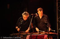 Mike Mainieri et Franck Tortiller - New Morning, 5 novembre 2012. -  voir en grand cette image