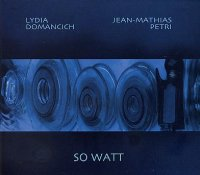Lydia DOMANCICH - Jean-Mathias PETRI : « So Watt » -  voir en grand cette image