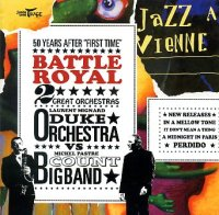 Laurent MIGNARD DUKE ORCHESTRA & Michel PASTRE BIG BAND : « Battle Royal » -  voir en grand cette image