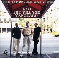 Enrico PIERANUNZI with Marc JOHNSON, Paul MOTIAN : « Live at The Village Vanguard » -  voir en grand cette image
