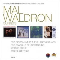 MAL WALDRON Quintets : « The complete remastered recordings on Black Saint & Soul Note » -  voir en grand cette image